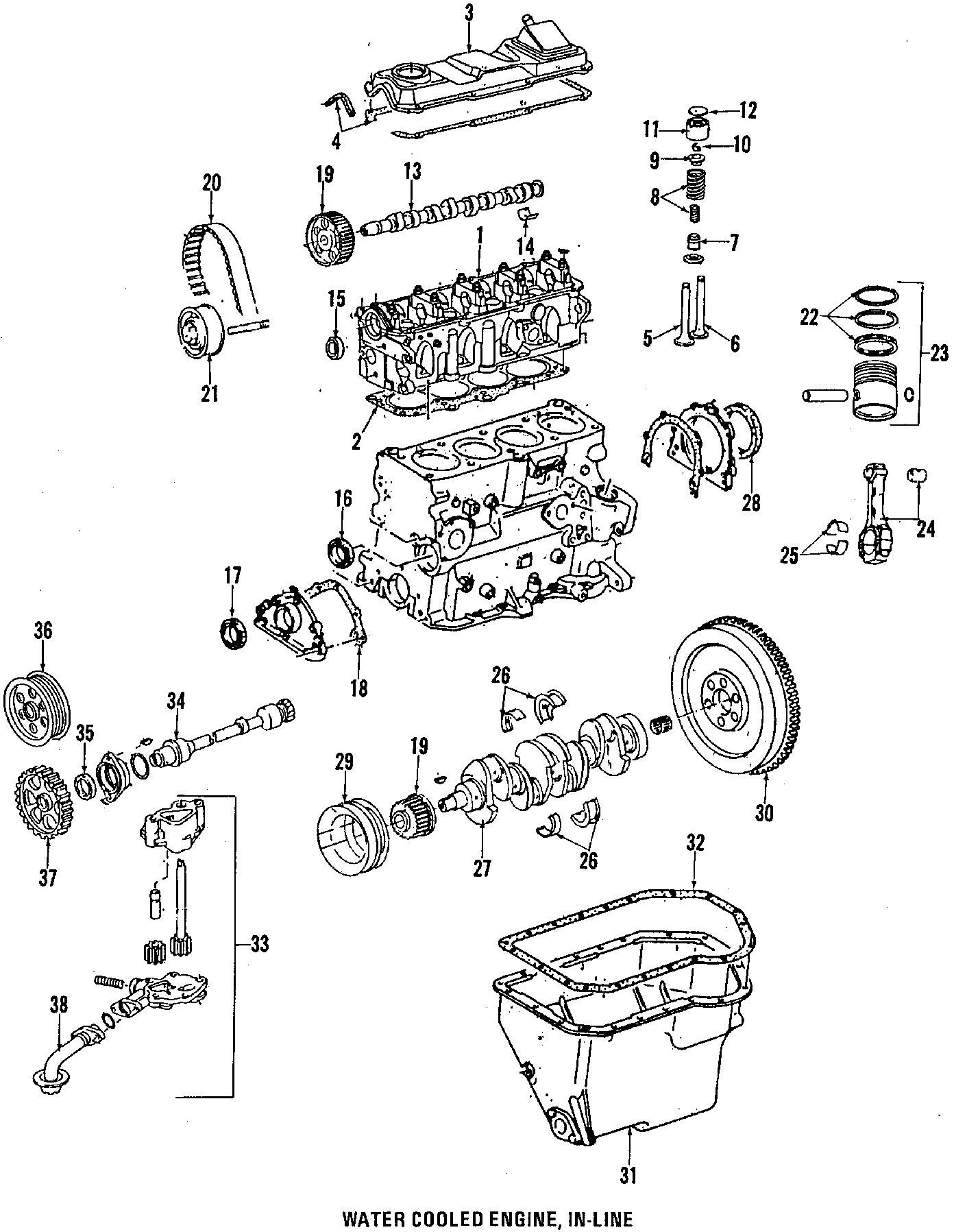 Volkswagen Vanagon Engine Valve Stem Oil Seal Valve