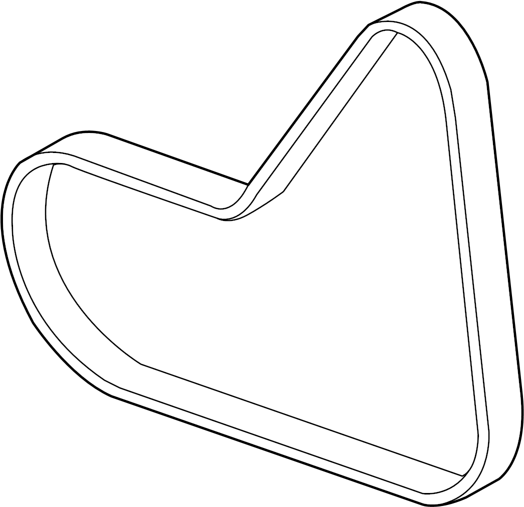 Volkswagen Passat Ribbedbelt Serpentine Belt Liter