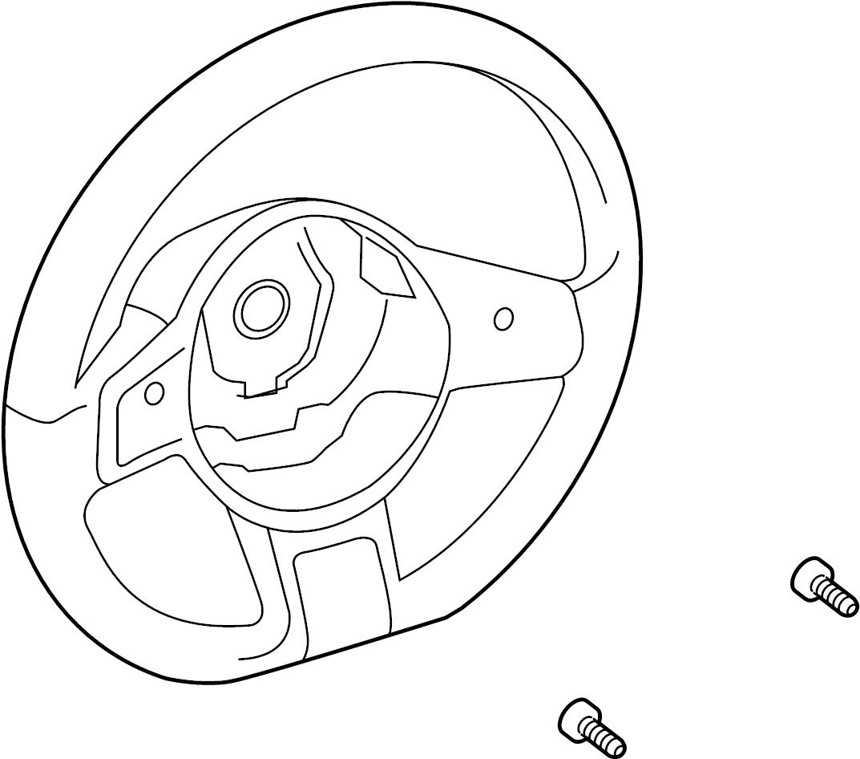 Volkswagen Beetle Convertible Steering Wheel