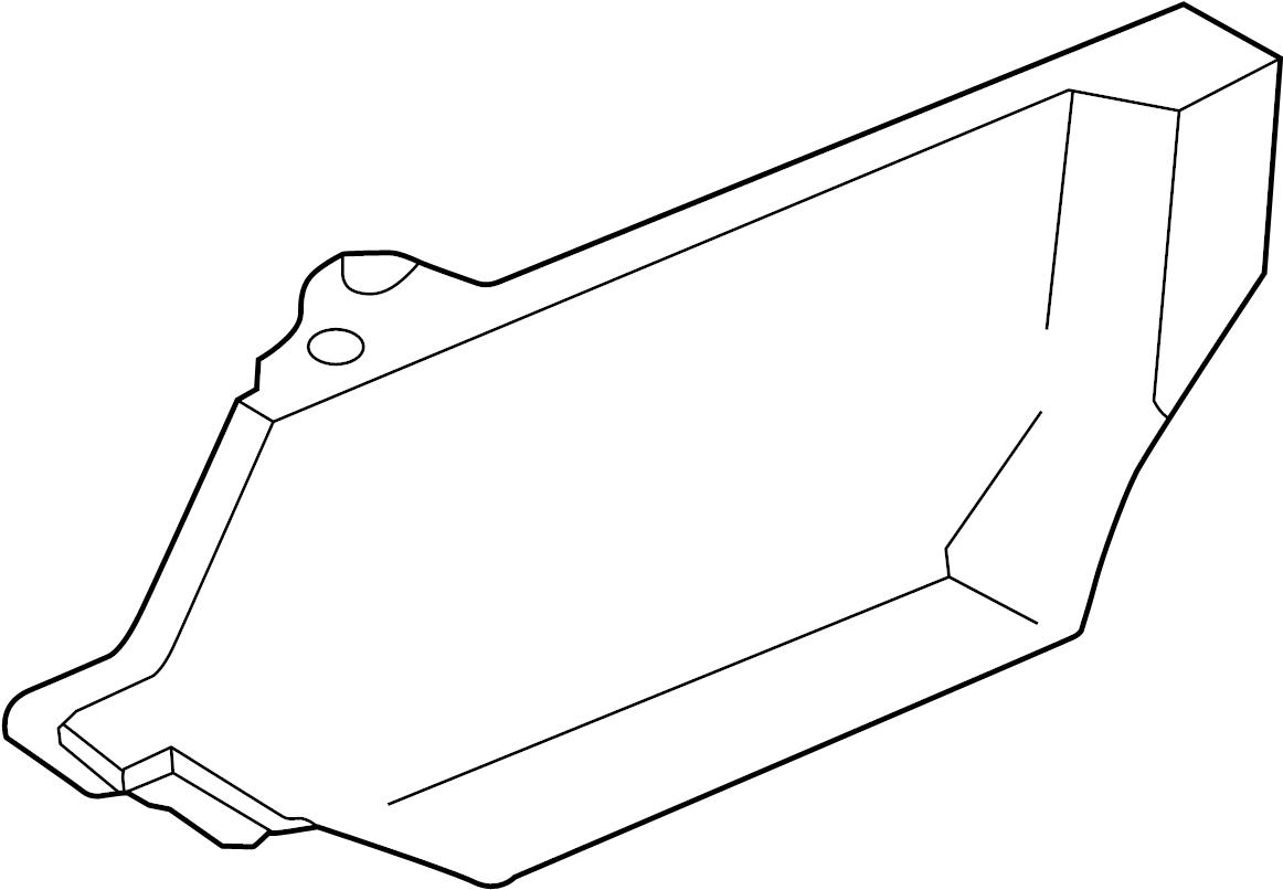 Volkswagen Cabrio Accessory Drive Belt Cover