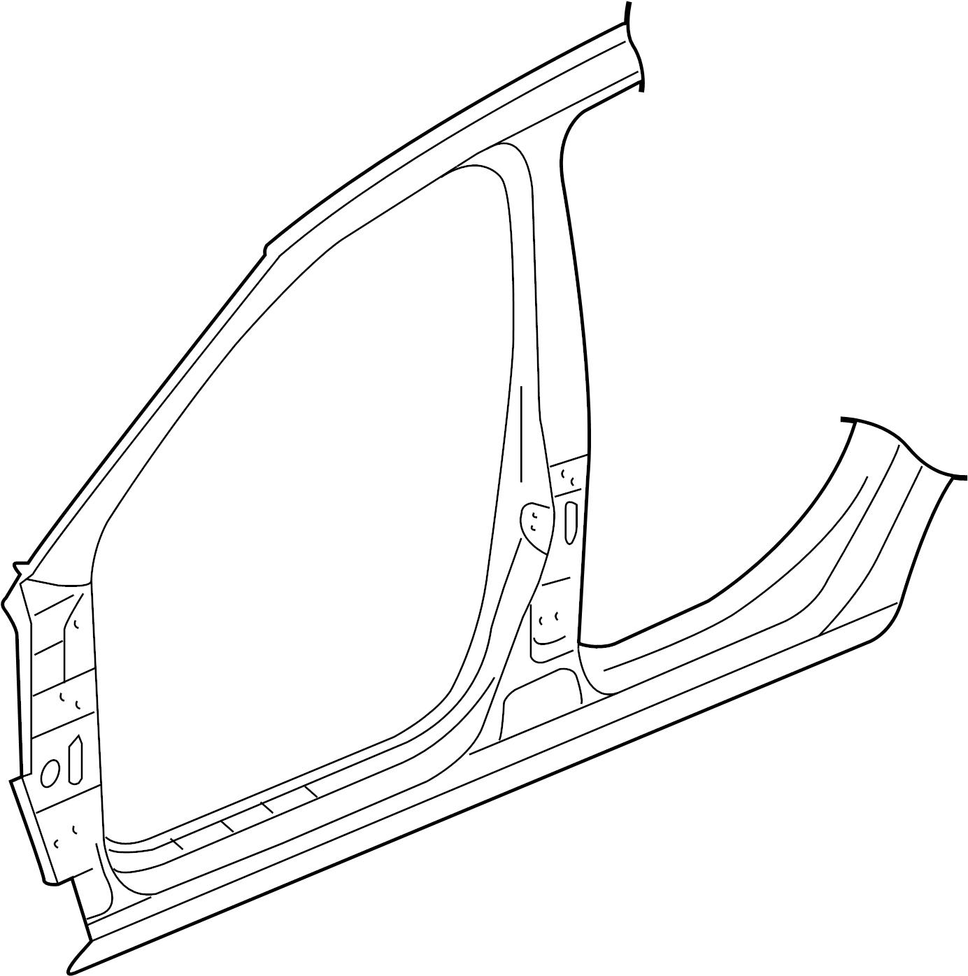 Volkswagen Golf Uniside Panel Door Aperture
