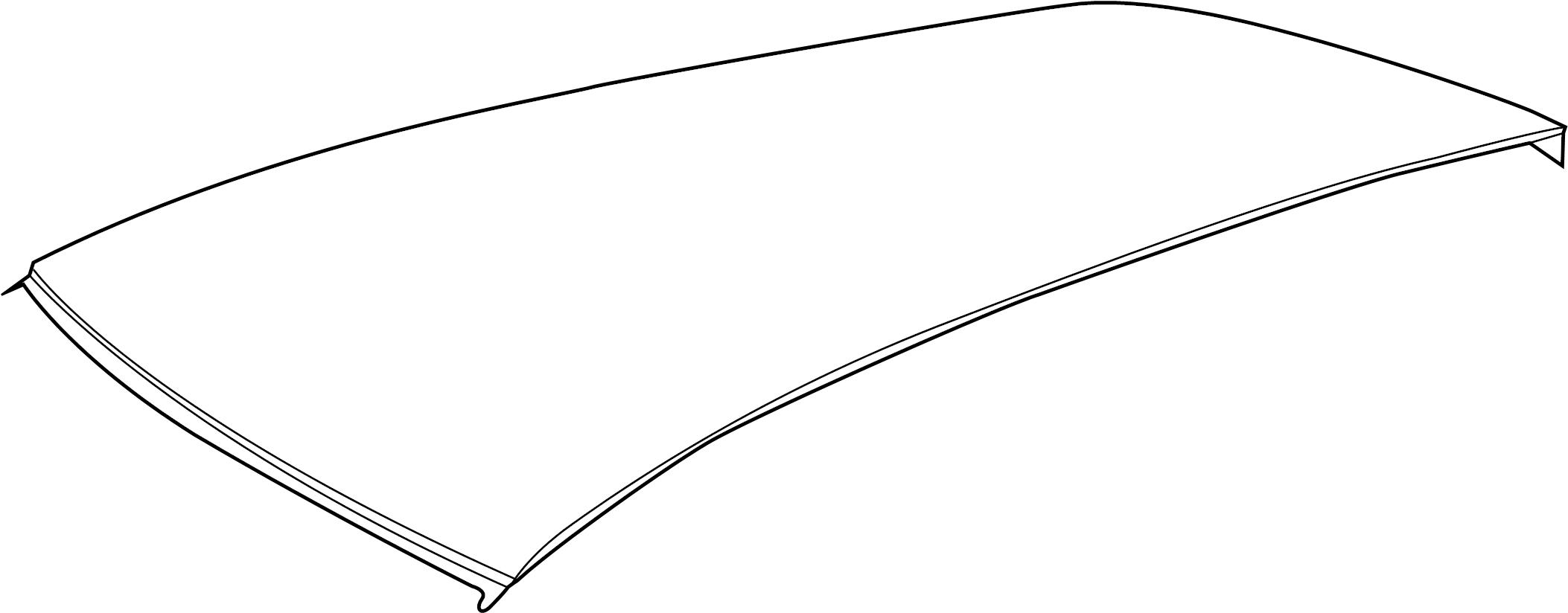 Volkswagen Sportwagen Roof Panel W O Sunroof Wagon