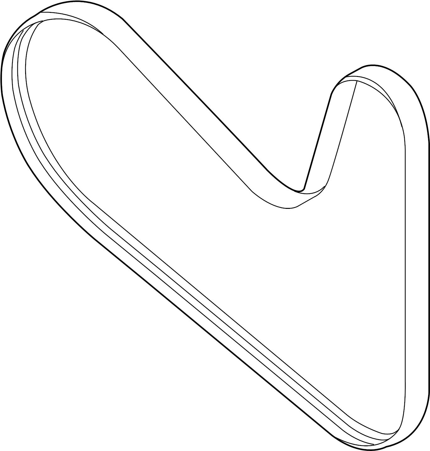 Volkswagen Passat Serpentine Belt Litersel