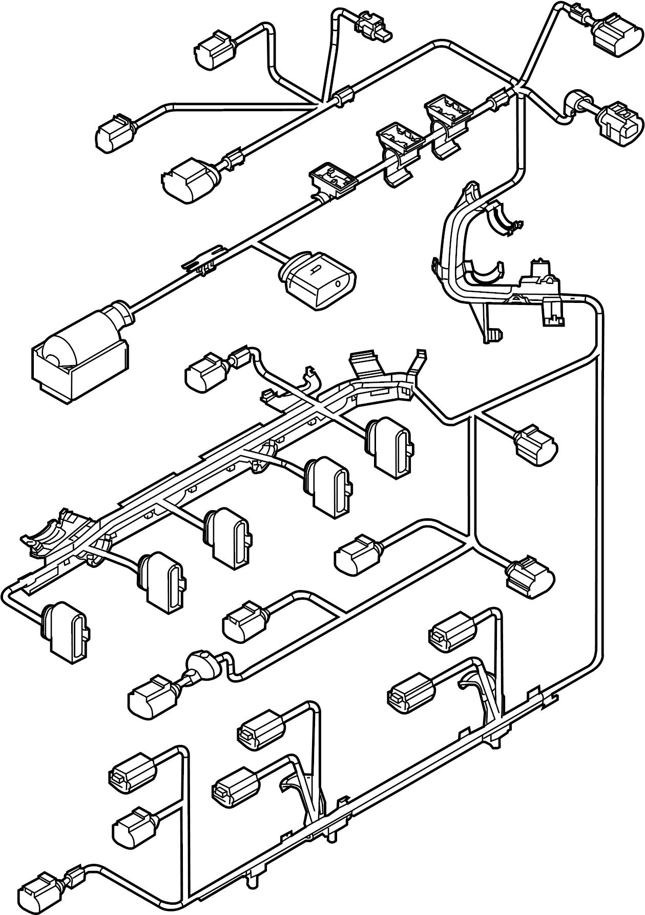 Volkswagen Jetta Engine Wiring Harness