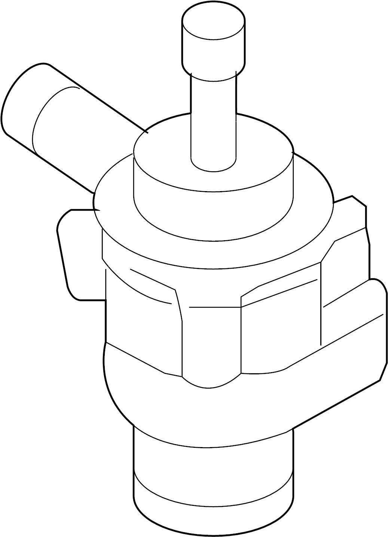 Volkswagen Jetta Aux Pump Auxiliary Pump Water Pump