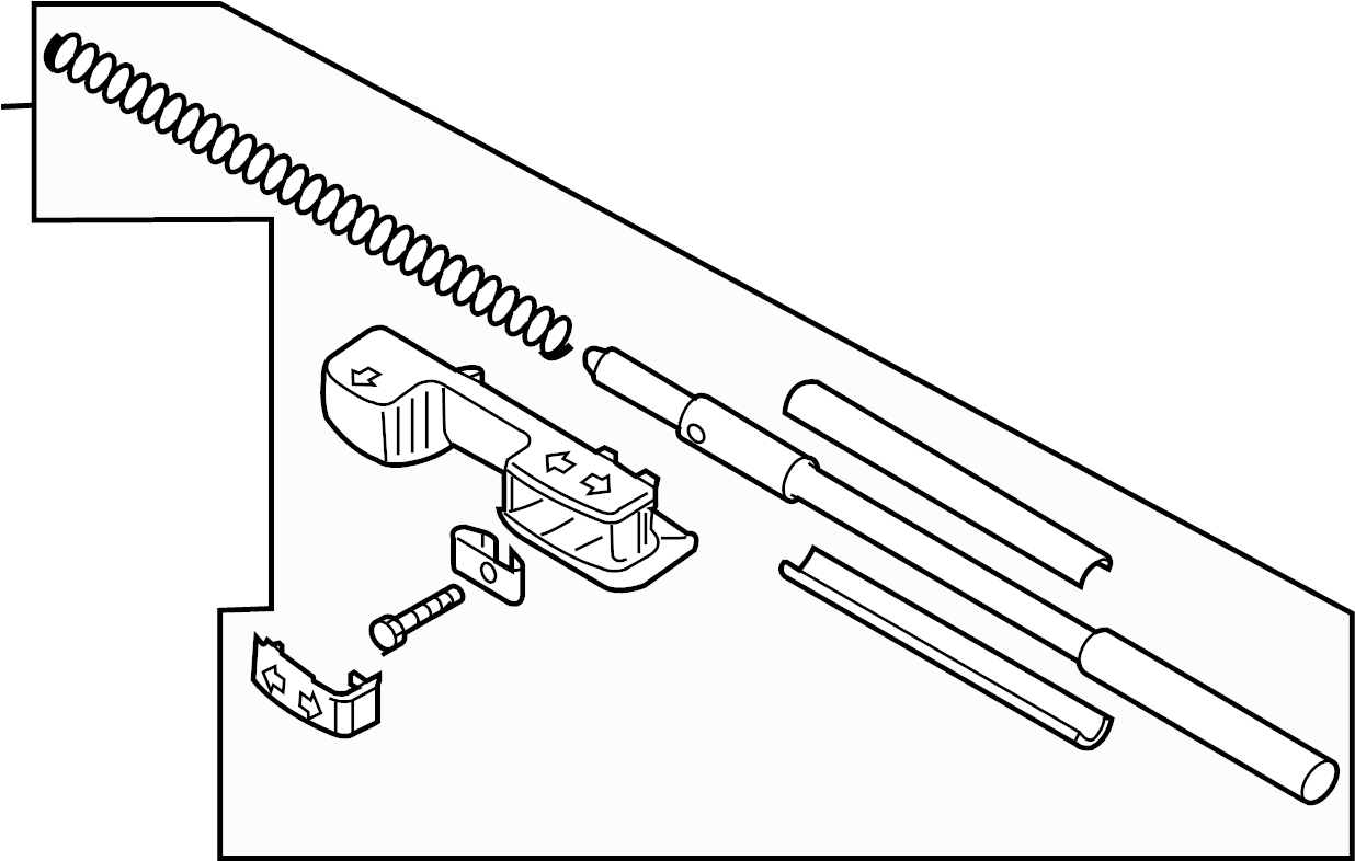 Volkswagen Eos Lock Pin Included With Air Deflector
