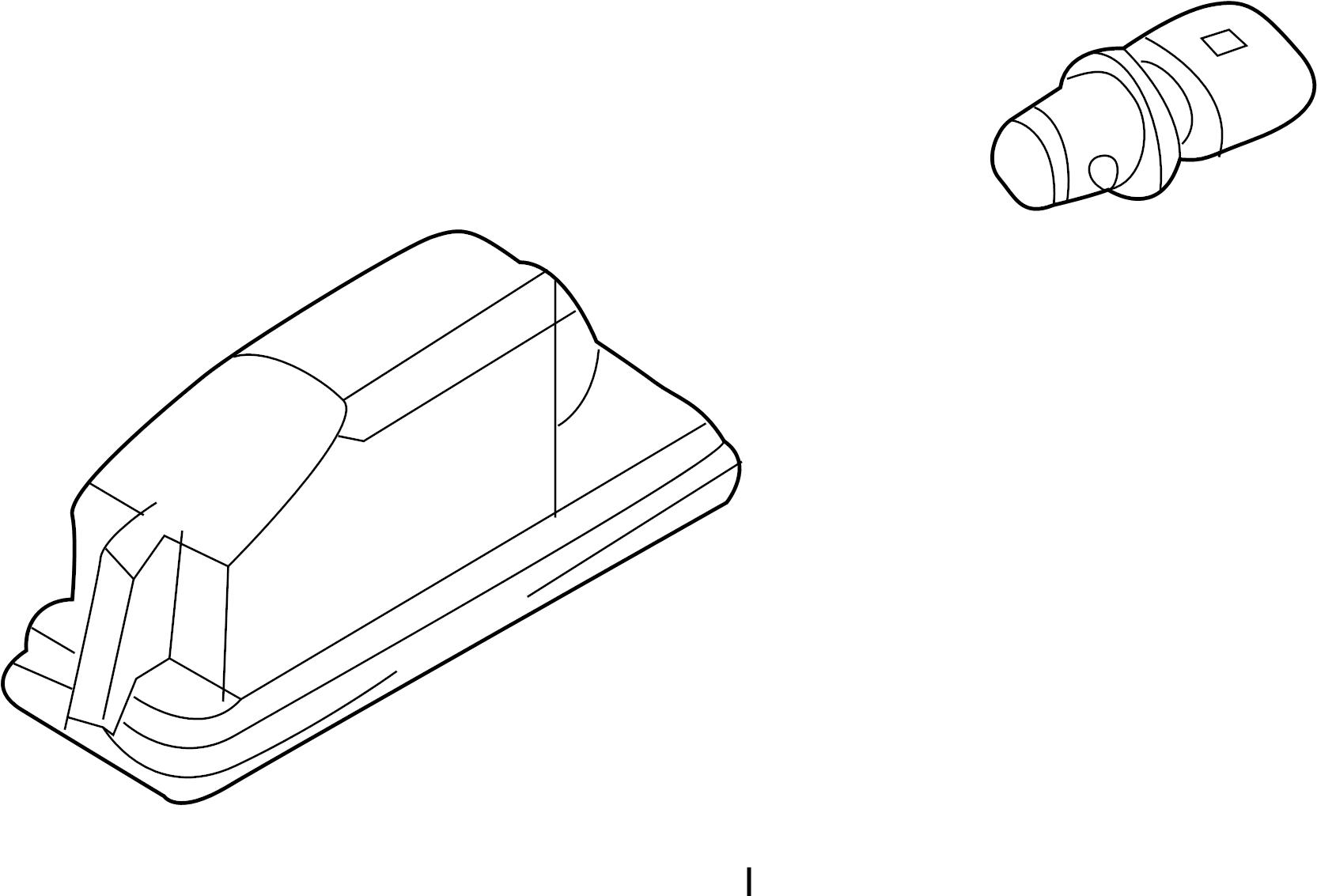 Volkswagen Gti License Plate Light Assembly 16
