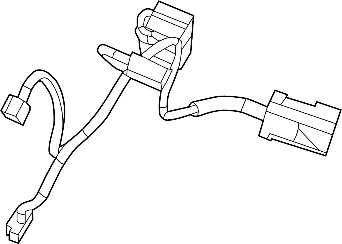 Volkswagen Routan Hvac System Wiring Harness W