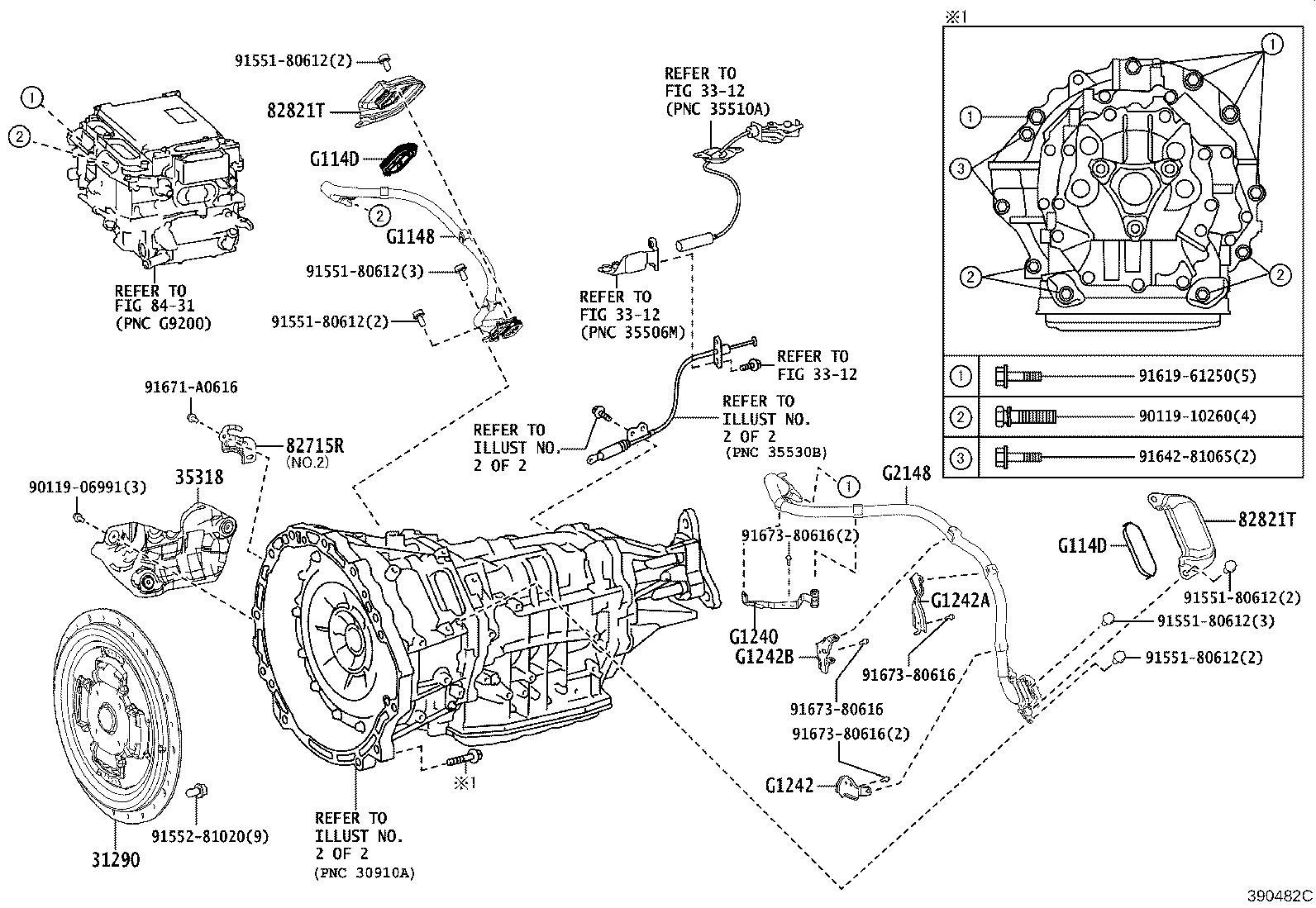 Lexus Lc 500h Transmission Assembly Hybrid Vehicle