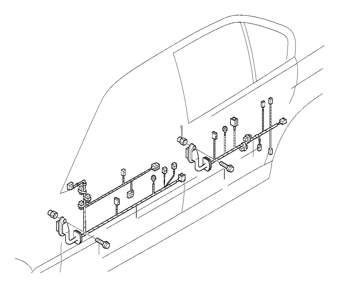 Bmw 750ilp Adapter Wire F Airbag Module