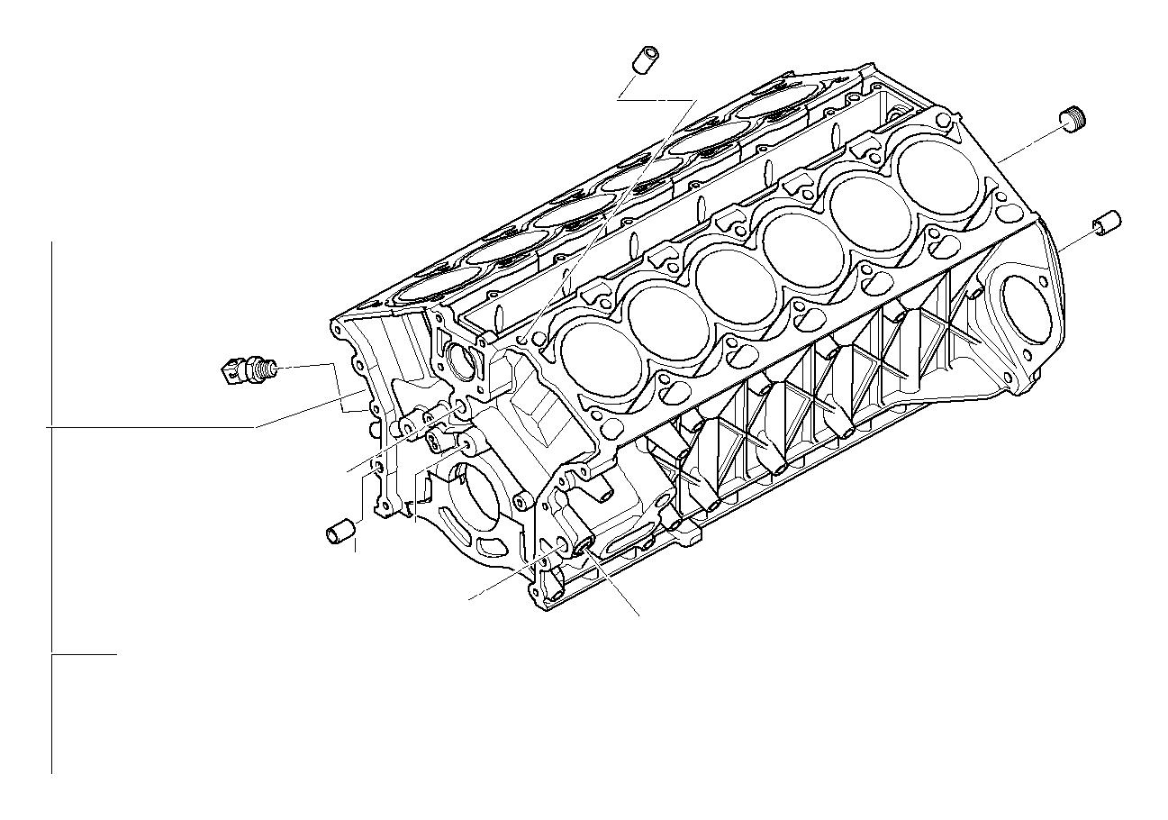 Bmw 760li Dowel D 8 3mm Alpina Engine Rid