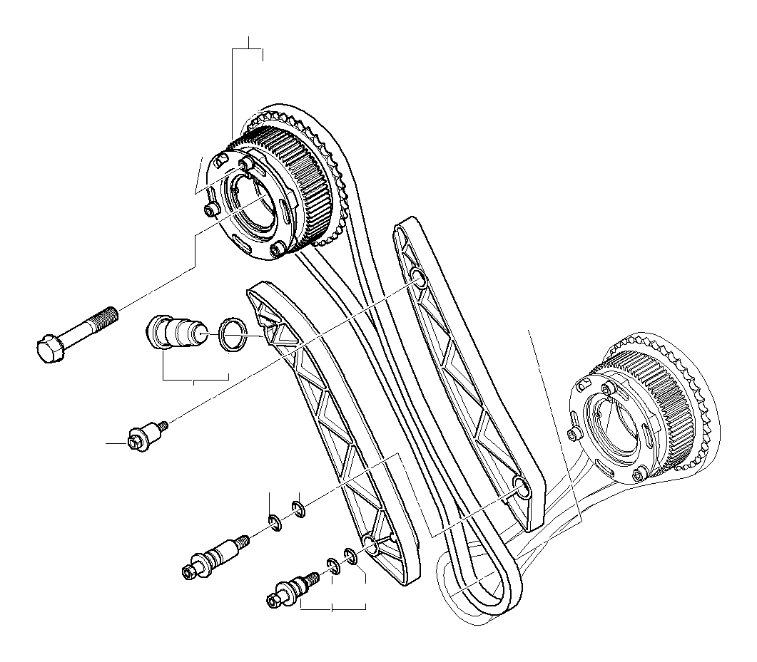 Bmw M6 Timing Chain Cyl Belts Gear