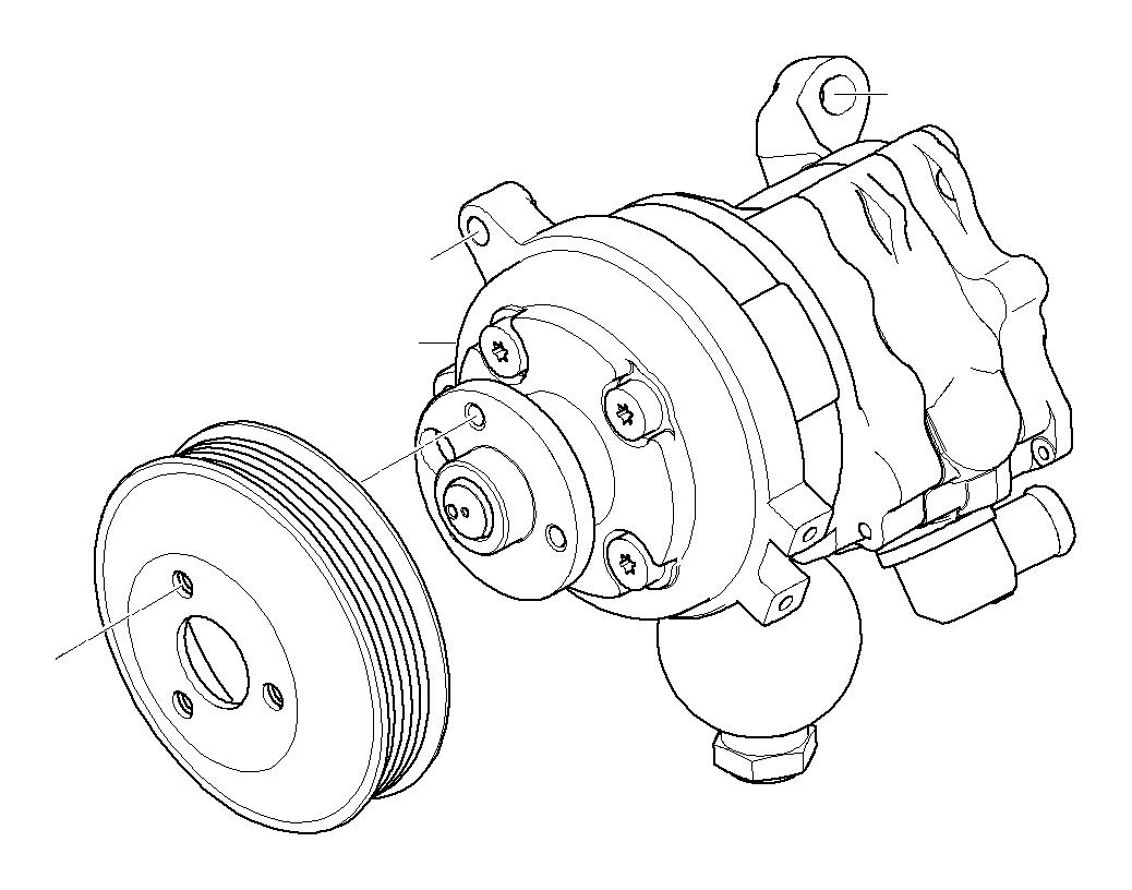 Bmw 530i Tandem Pump Lfr440 Luk