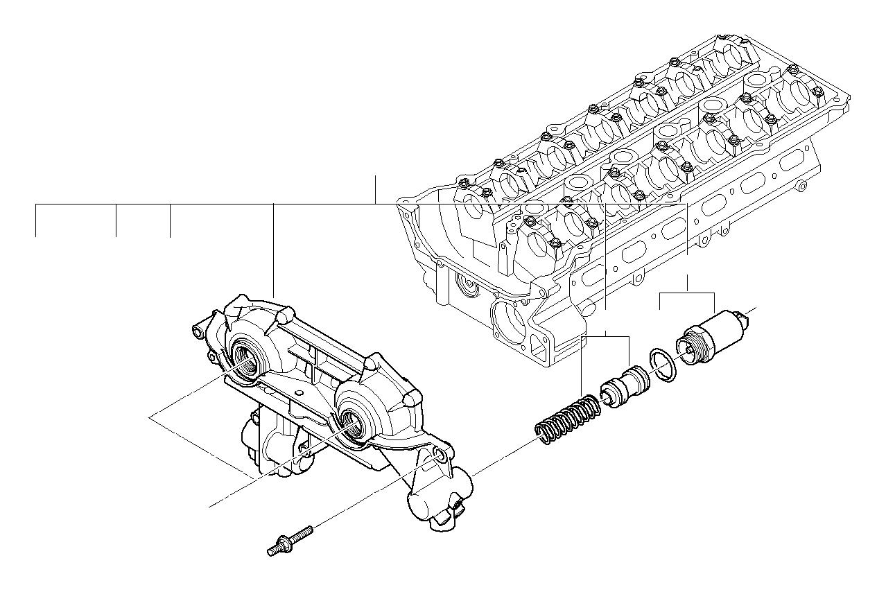 Bmw 525i Solenoid Valve Solv Head Cylinder