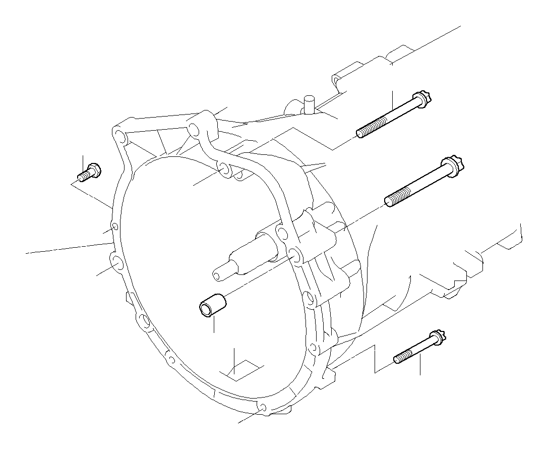 Bmw 330i Torx Bolt M12x75 Mounting Transm Suspension