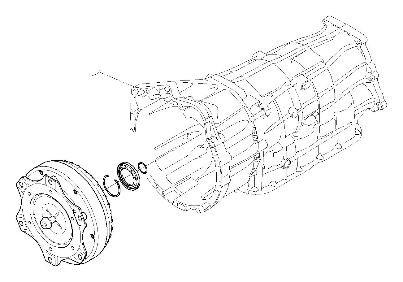 Bmw 328i Set Converter Sealing Rings Drive Transmission