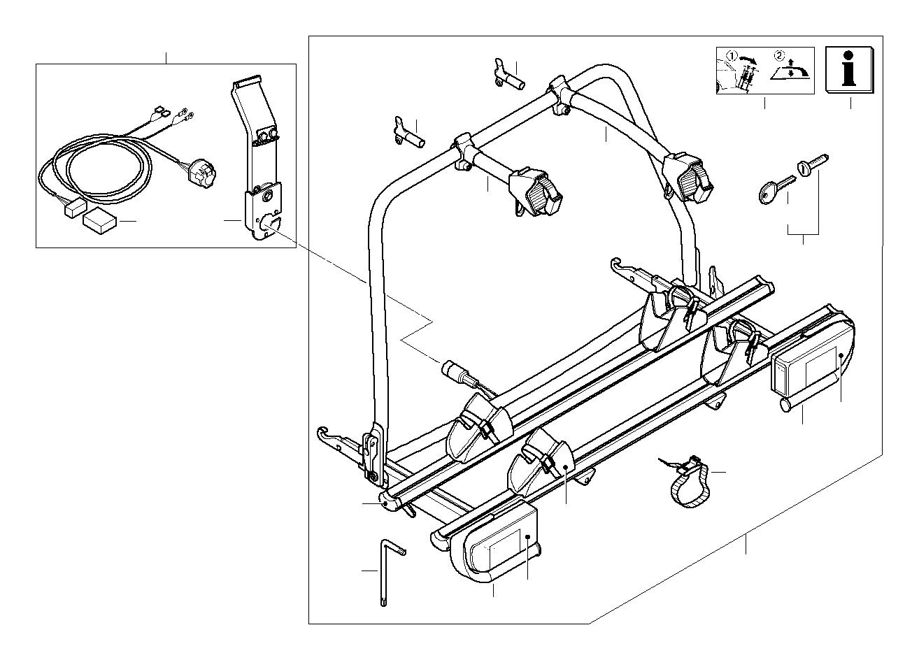 Bmw 135i Rear Light Right Alpina Rack Coupe