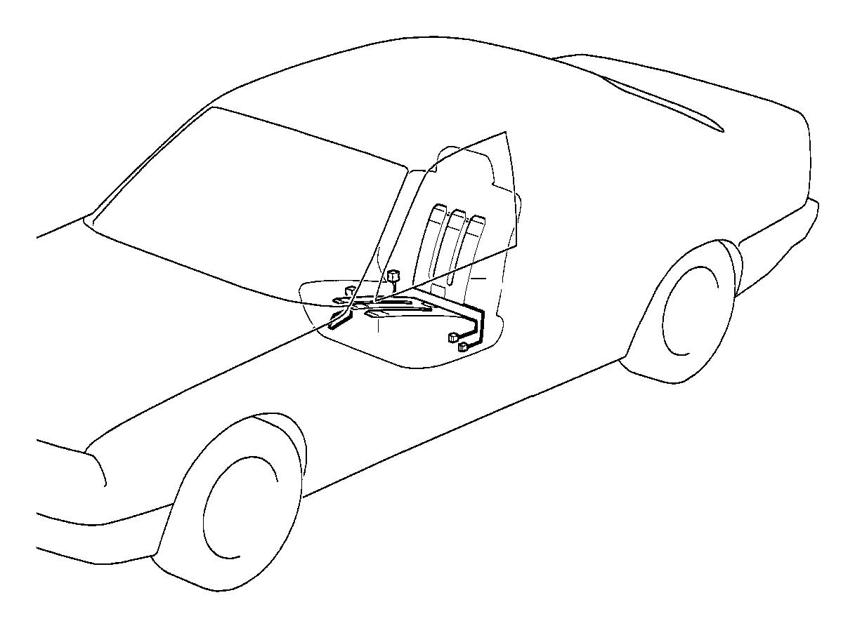 Bmw 525i Heating Element Backrest 120 W Seat Interior