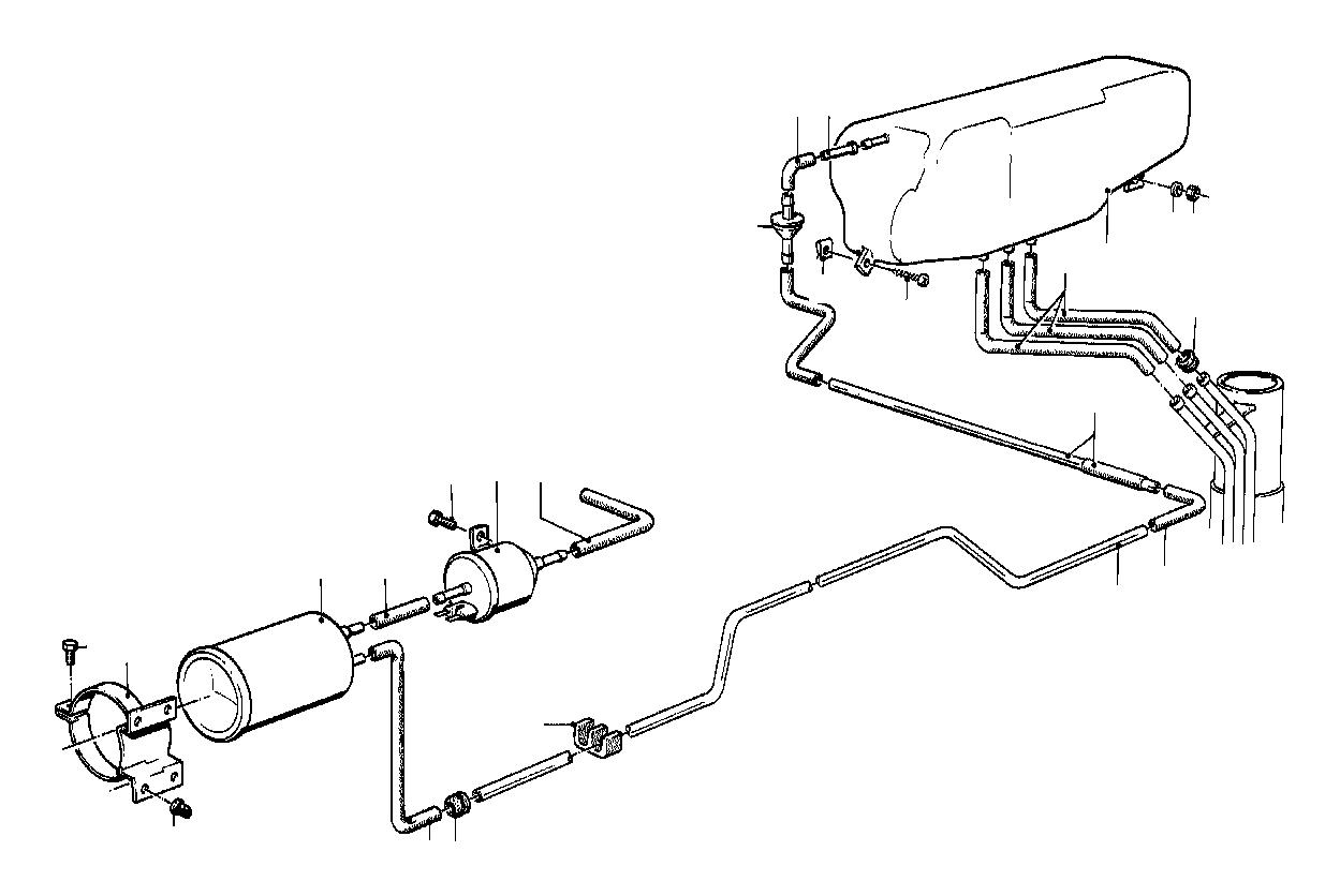 Bmw 633csi Expansion Tank Fuel System