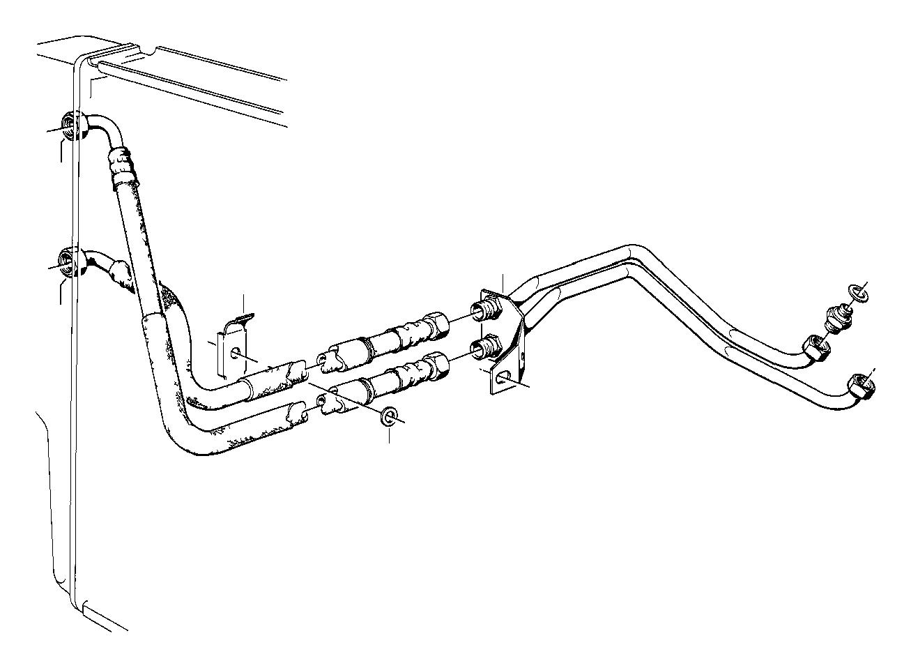 Bmw 633csi Threaded Pipe Joint M14 M18x1 5 Radiator