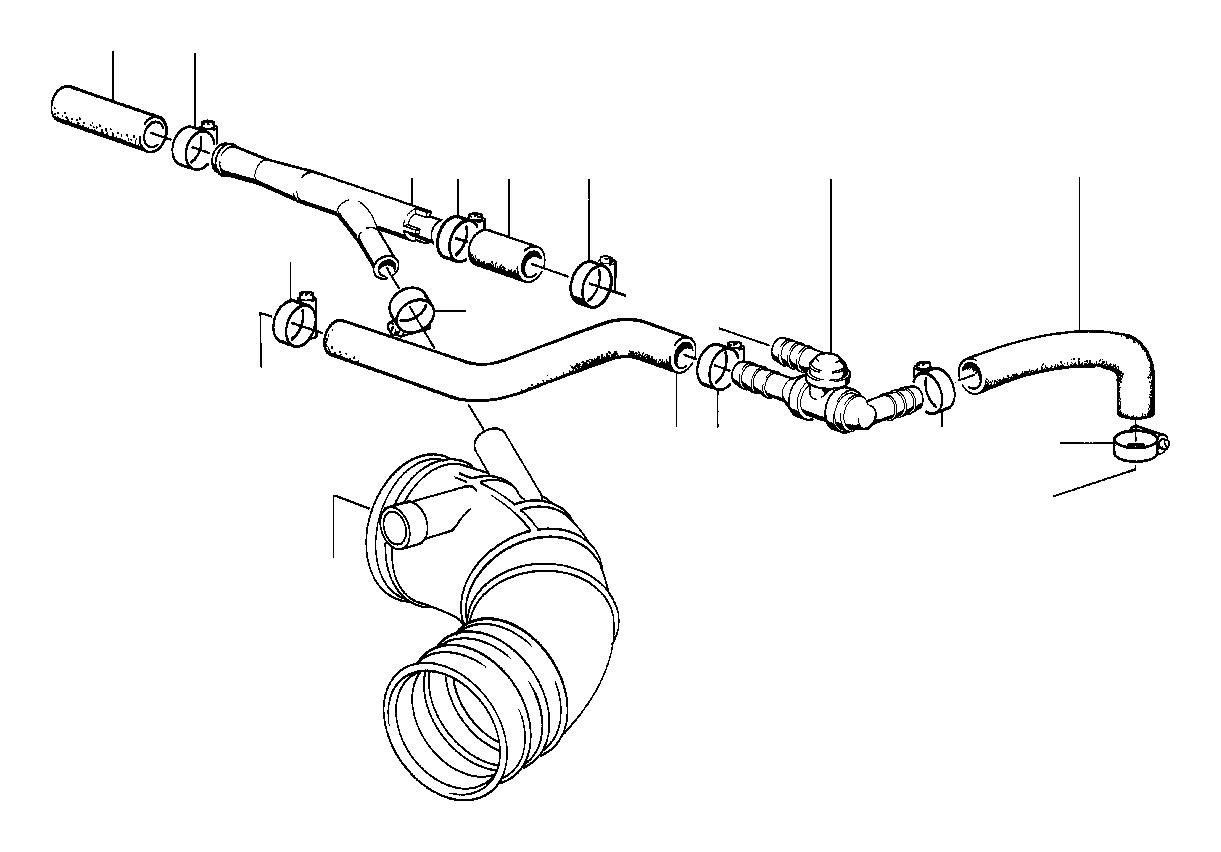 Bmw 325ix Non Return Valve Engine Vacuum Brake