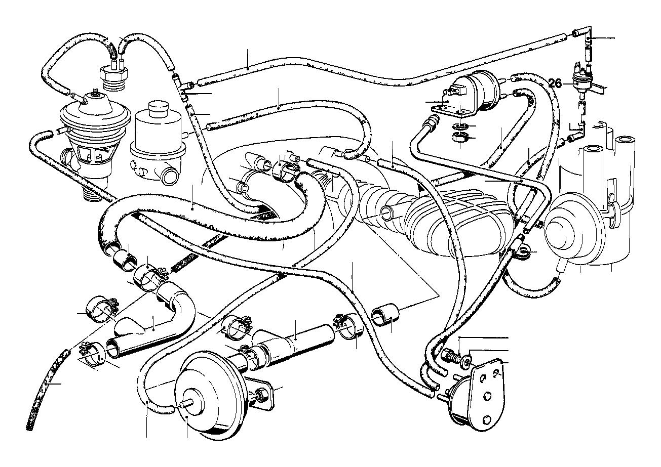 Bmw 320i Vacuum Hose Blue 3 3x1 8 Control System