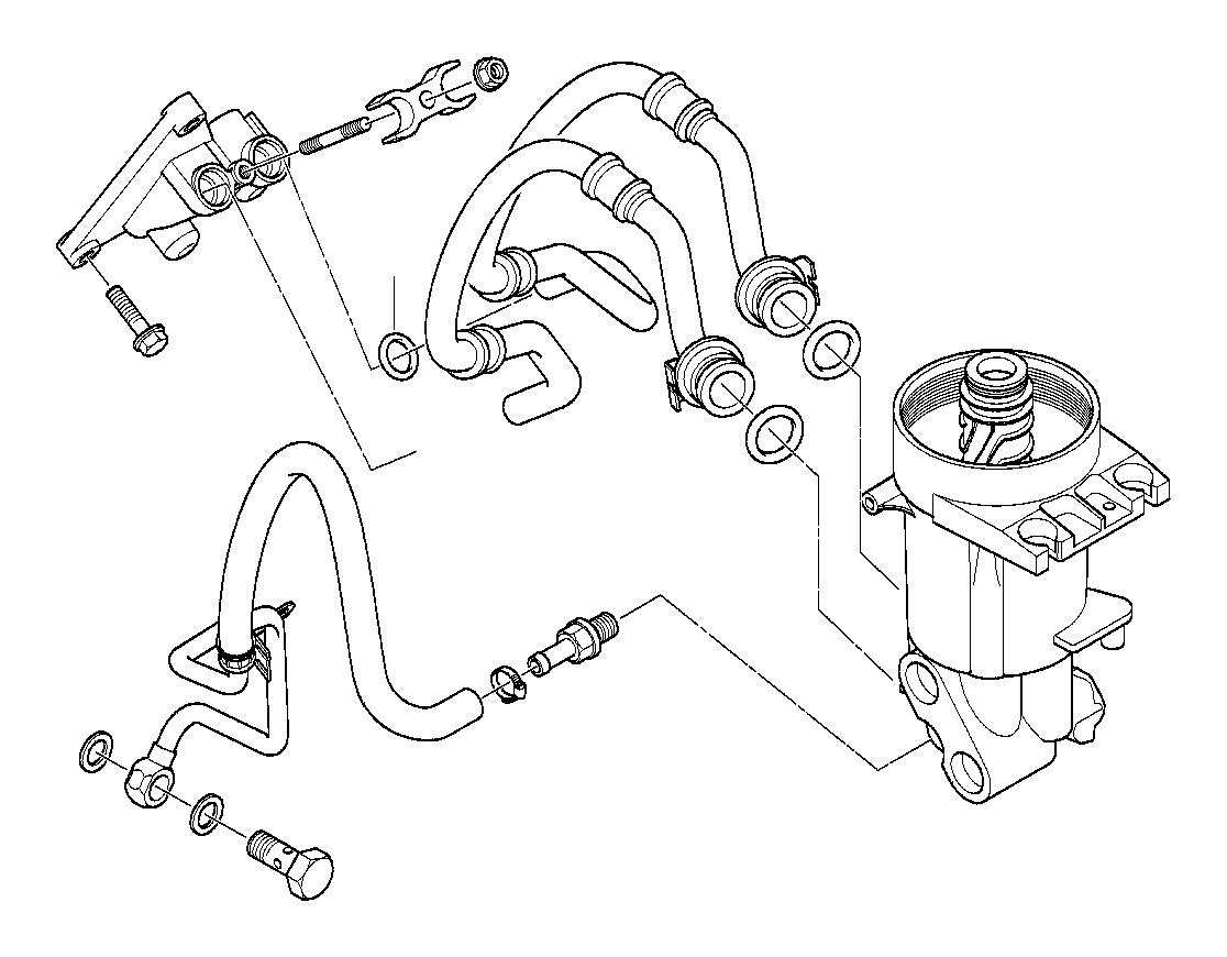 Bmw X5 Connector M14x1 5x44 5 Oil Engine Lubrication