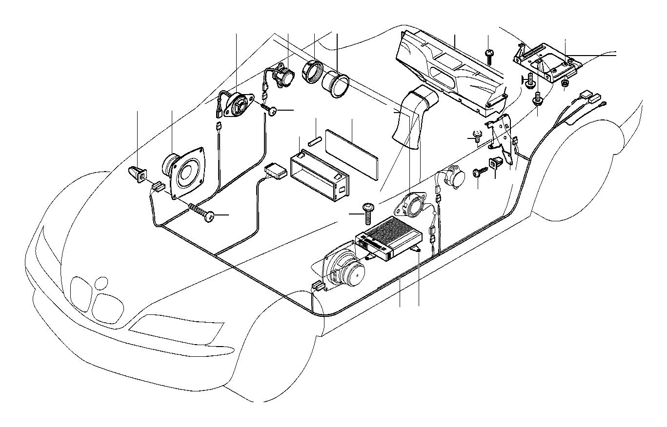 Bmw Z3 Woofer Harman Kardon System