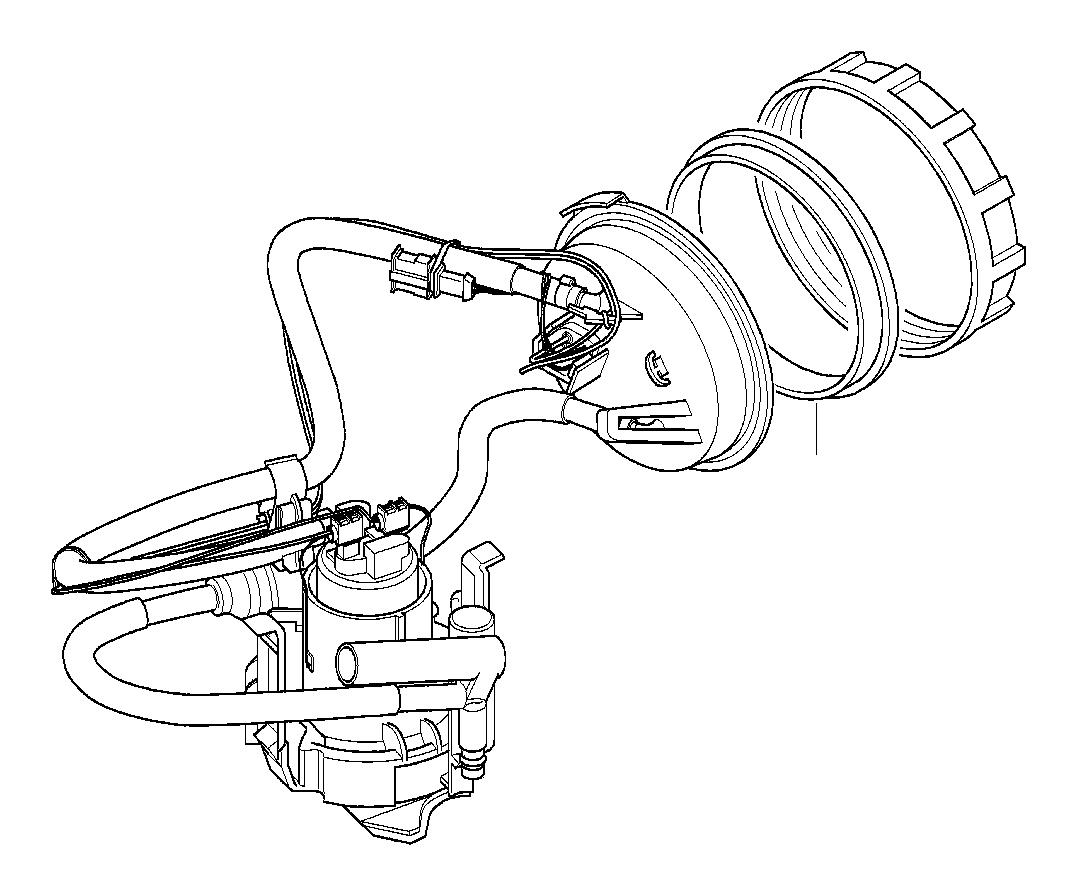 Bmw 540ip Screw Cap Fuel Level Sensor