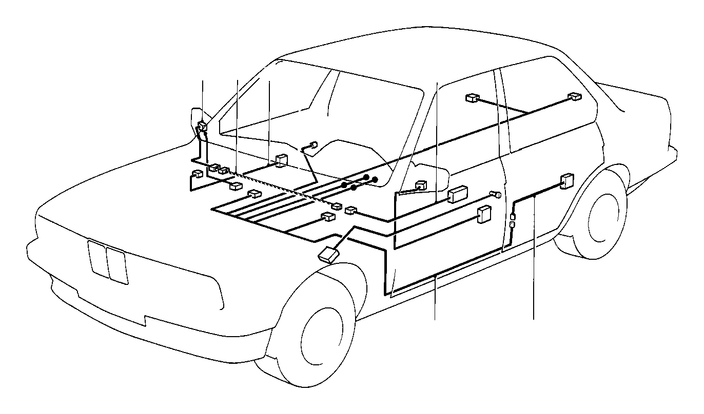 Bmw 325e Wiring Co Drivers Side Sets