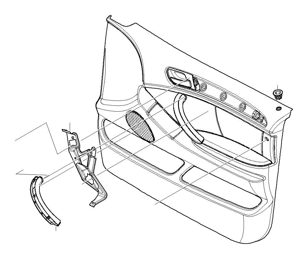 Bmw X5 Label Side Airbag Hellbeige 2 Trim Door Panels