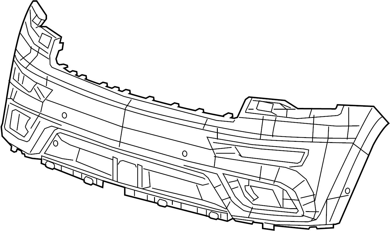 Bmw 740ldx Prime Coated Left Flap Alpina Front Trim
