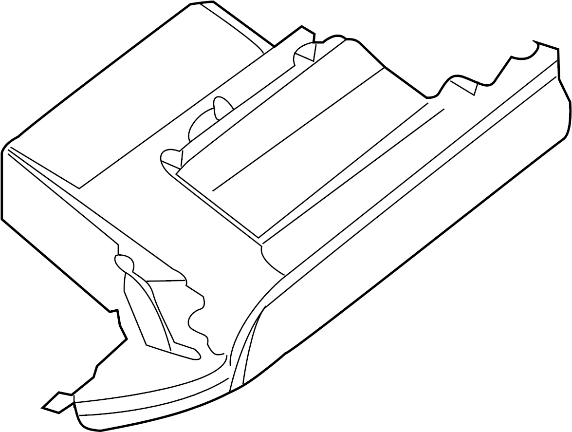 Nissan Maxima Glove Box Cluster Inst Pad