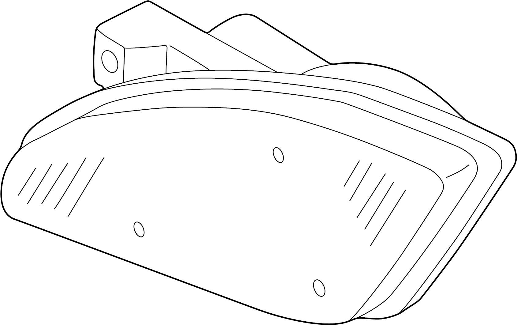 Nissan Altima Headlight System Headlamp Electrical