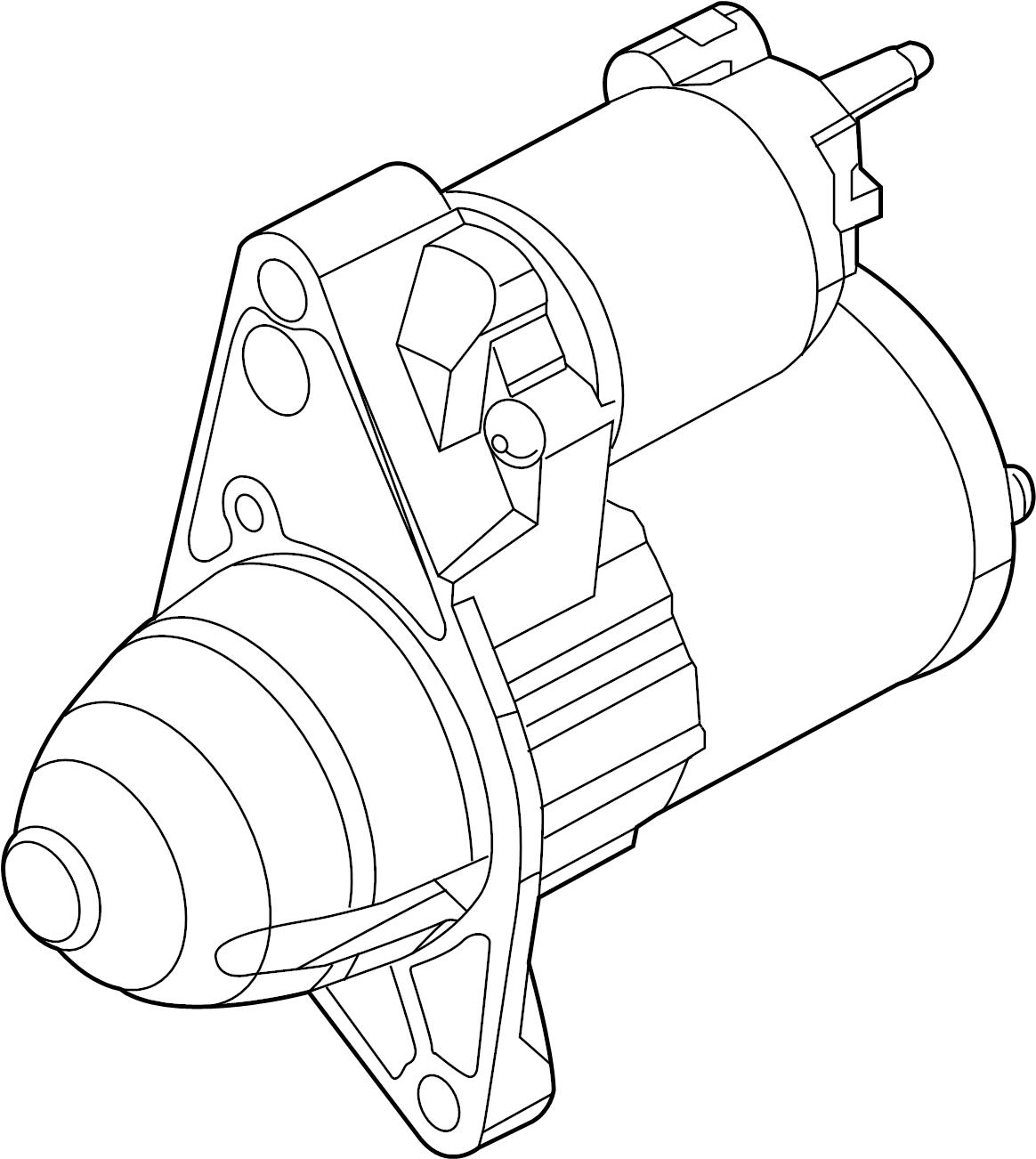 Porsche Cayenne Starter Motor