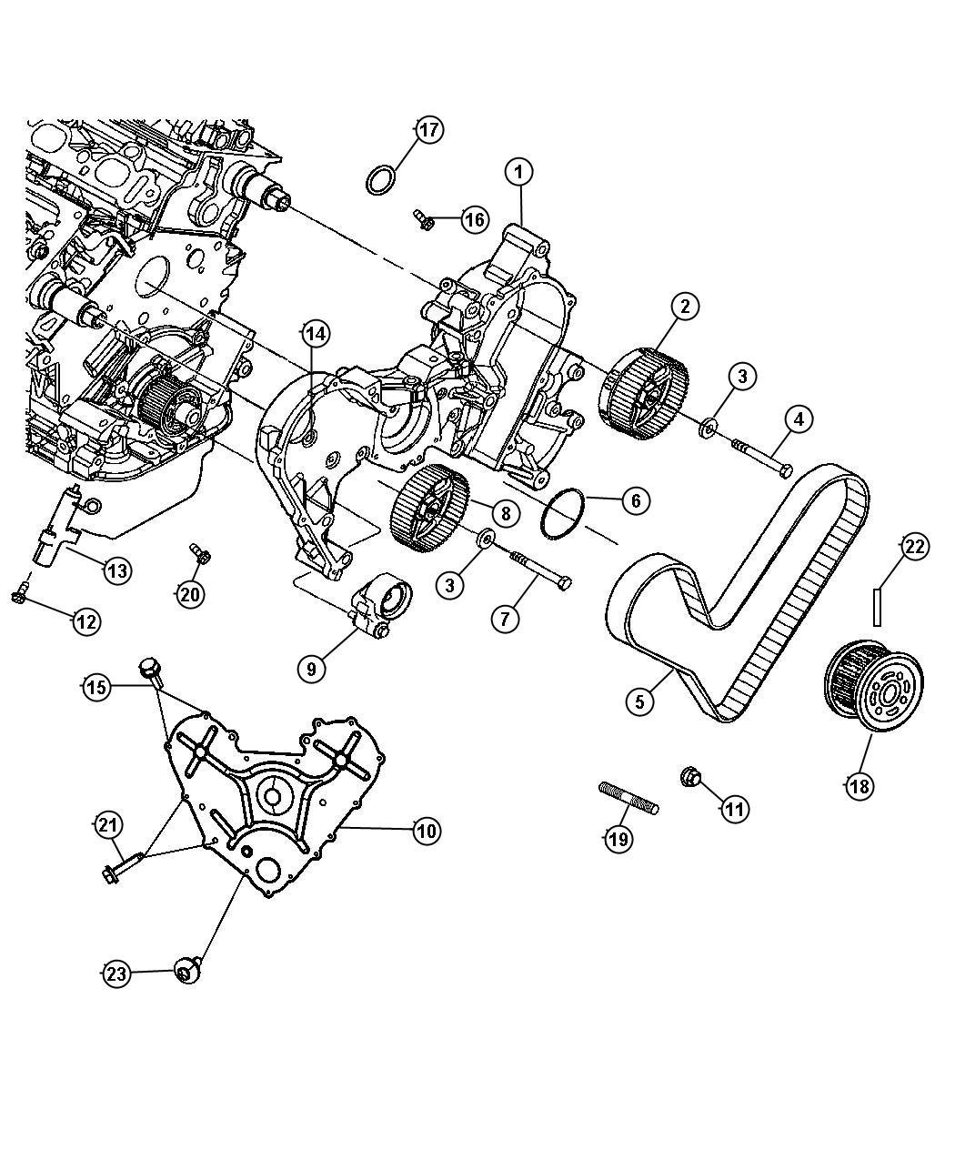 Dodge Nitro Bolt Screw Hex Head Hex Head Lock M12x1