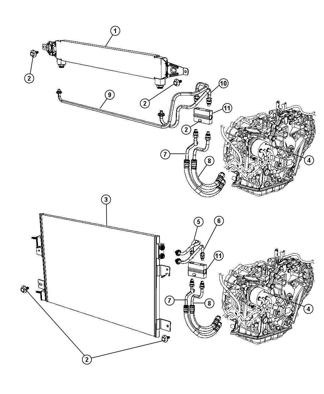 Dodge Caliber Valve Cooler Bypass Air Conditioning