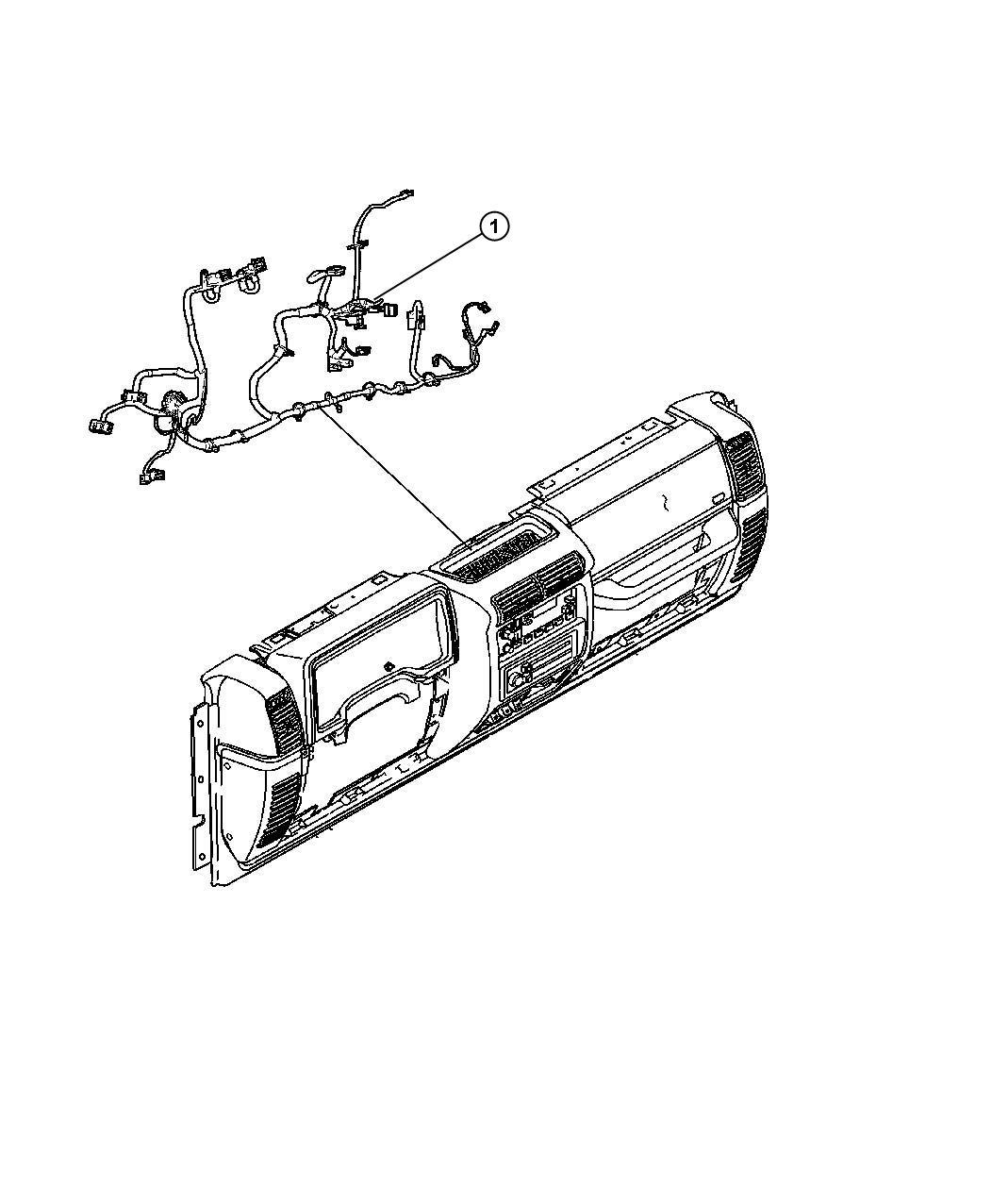 Jeep Wrangler Wiring Instrument Panel Pwr Windows