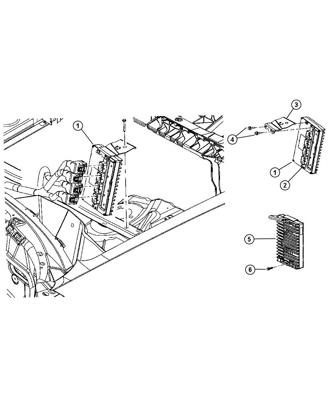 Dodge Challenger Module Transmission Control