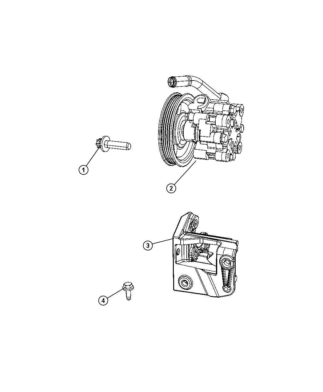 Chrysler Sebring Pump Power Steering