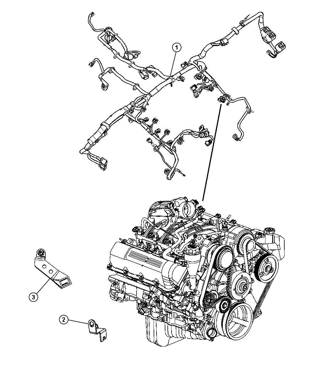 Jeep Liberty Bracket Wiring I P To Body Inline Bracket
