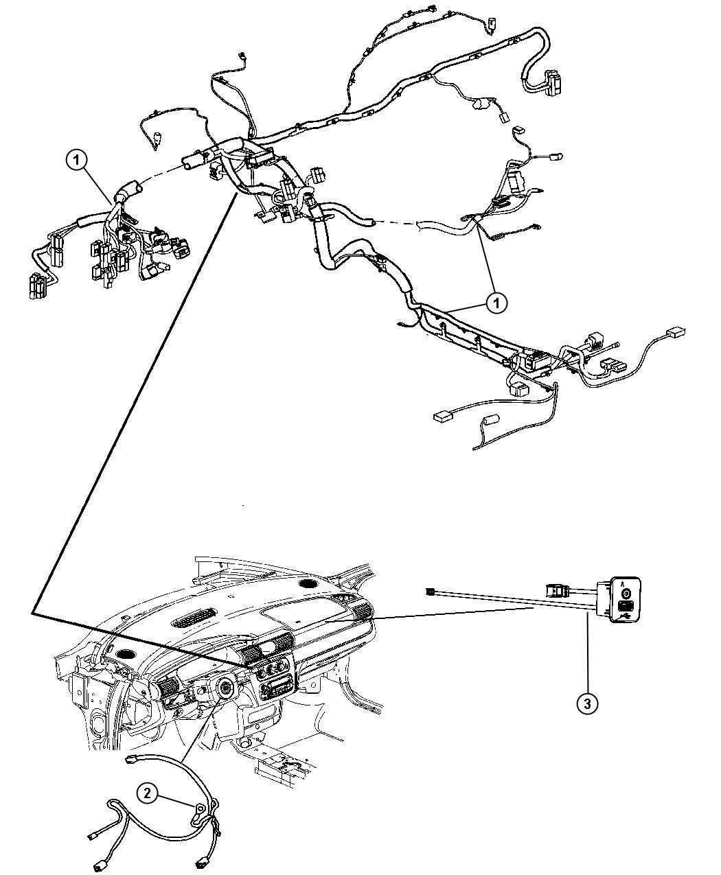 Dodge Express Wiring Instrument Panel