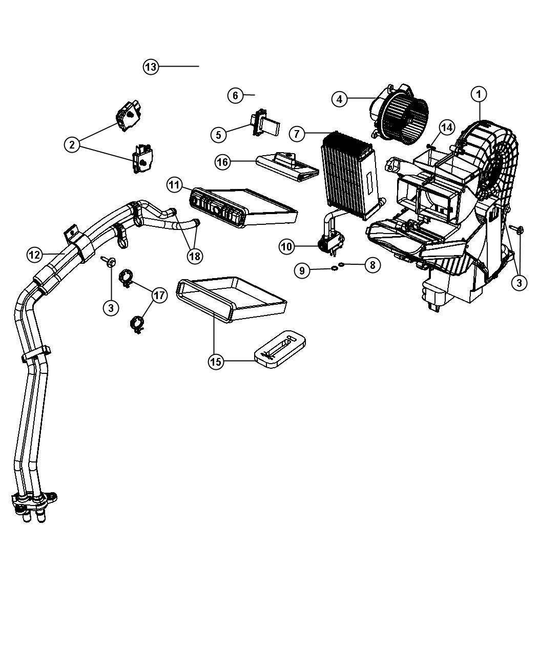 Chrysler Town Amp Country Resistor Blower Motor Air