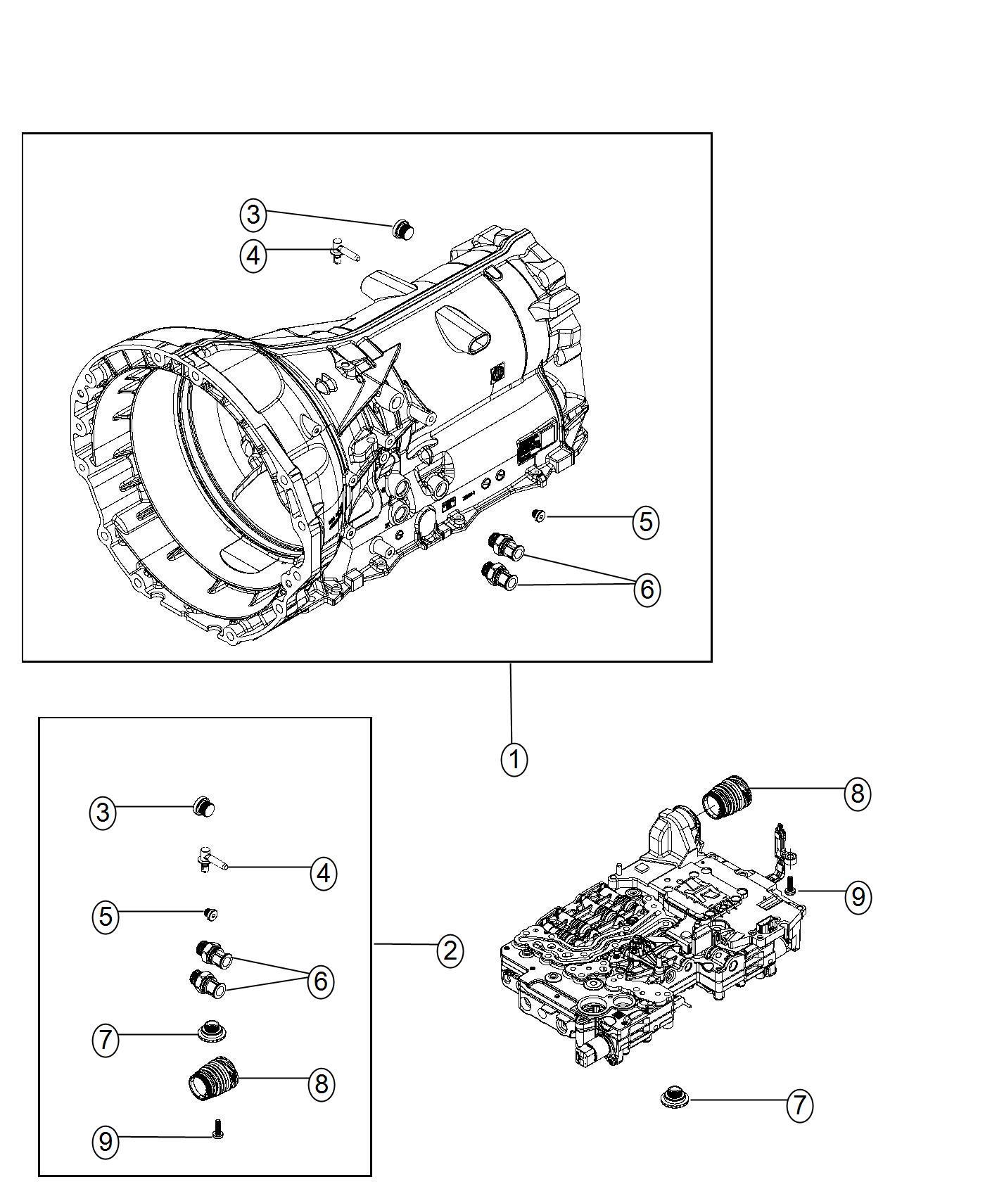 Dodge Durango Plug Oil Drain Equipment Group System