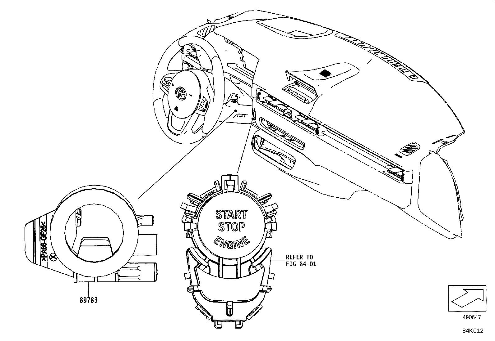 Toyota Supra Siren Assembly Theft Warning Electrical