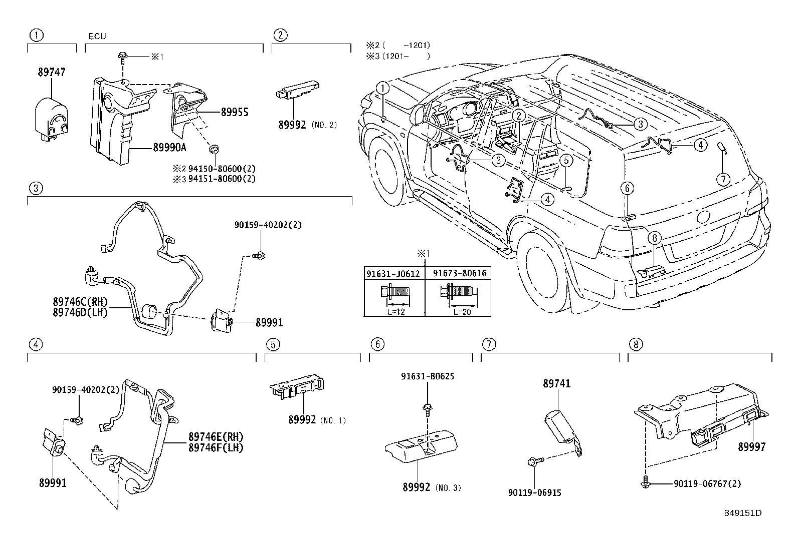 Toyota Land Cruiser Receiver Assembly Smart Electrical