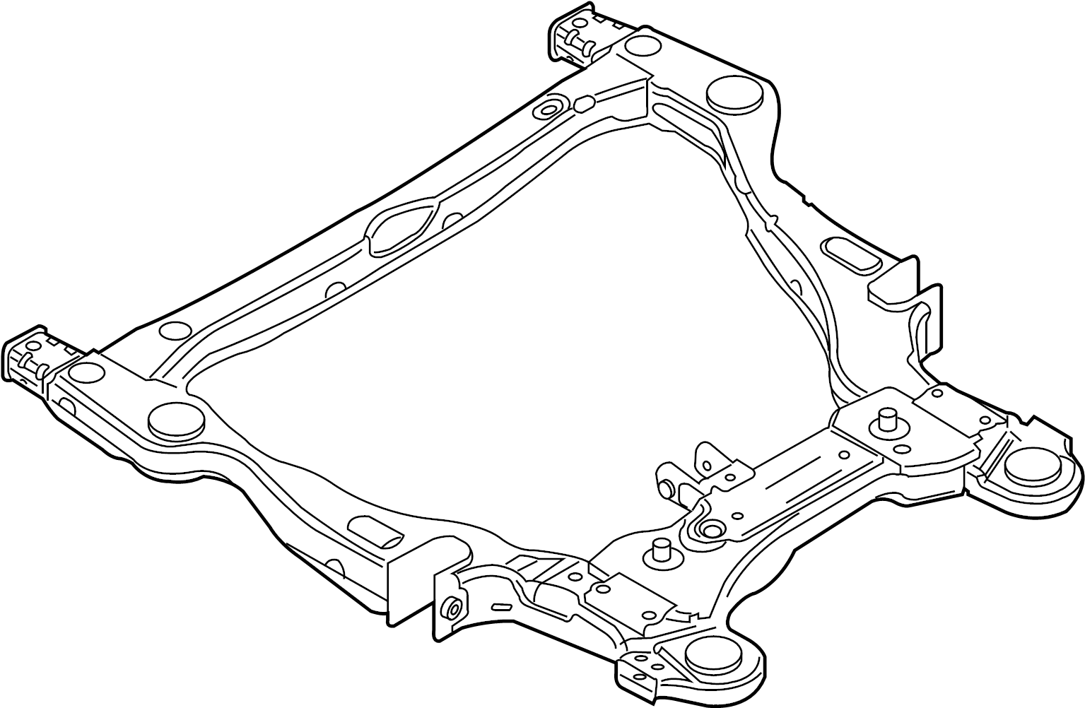 Ford Taurus Engine Cradle