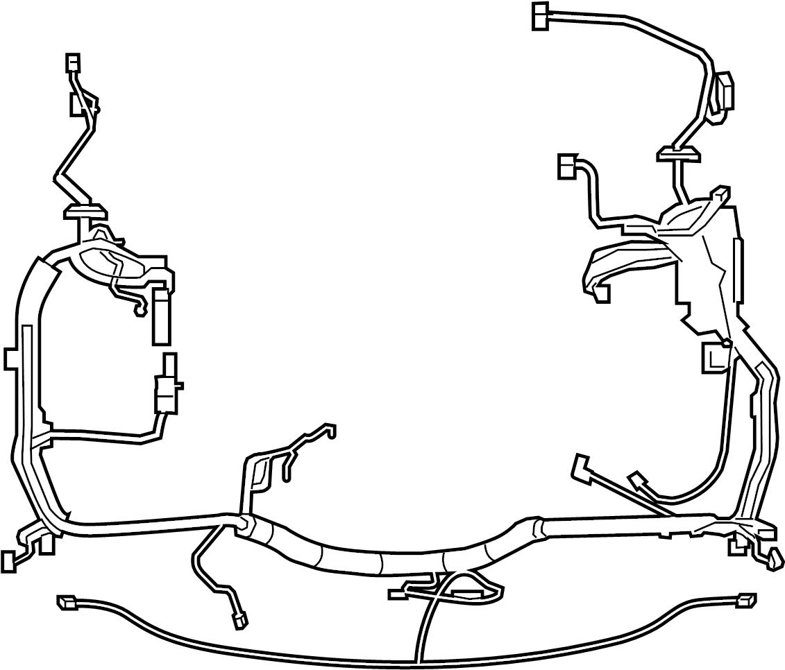 Ford F 250 Super Duty Engine Wiring Harness Engine