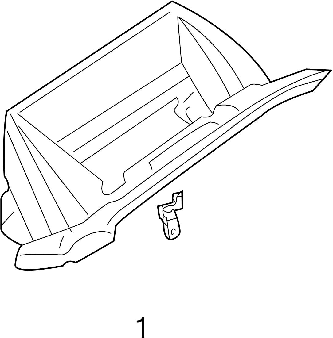 Infiniti G35 Glove Box Door Hinge Pin