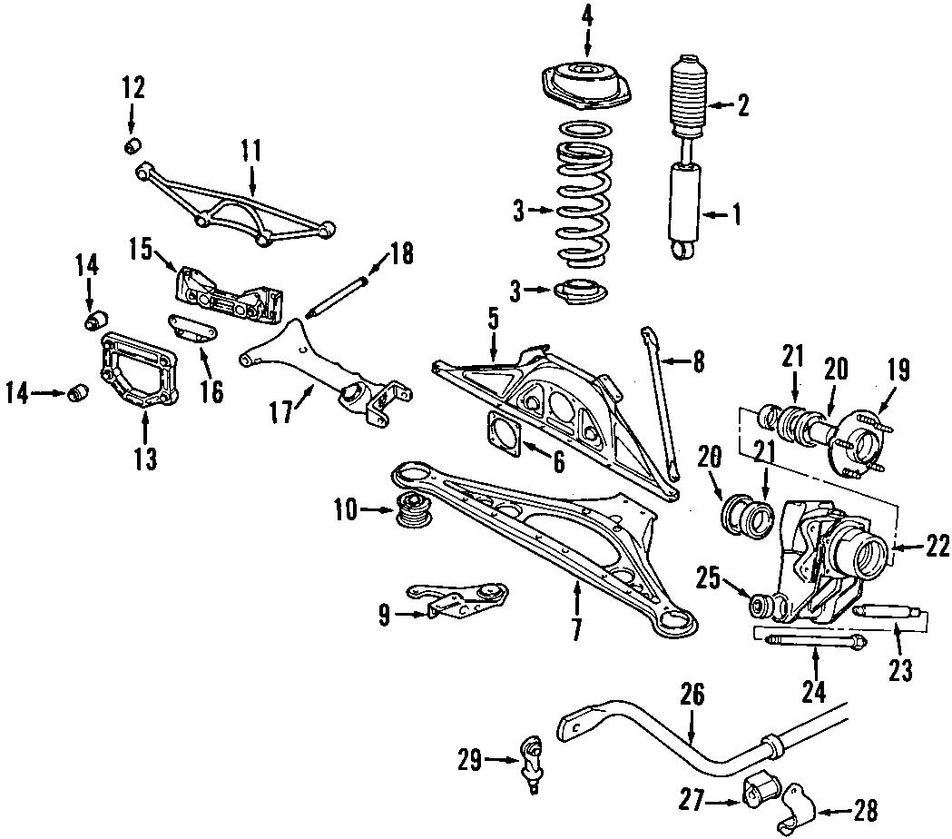 Jaguar S Type Suspension Subframe Reinforcement Bracket